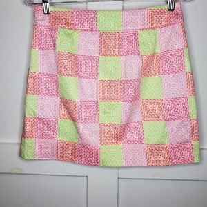 Vineyard Vines Skirts Patchwork Whale Skirt Pockets 0